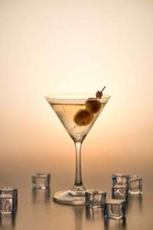 The Best Food and Drink Recipes That Contain Olives - classic martini